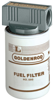 Goldenrod 56606 10 MICRON FUEL FILTER W/TOP CAP (1 EA/BAG)