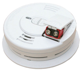 Kidde Interconnectable Smoke Alarms, With Hush and Front Battery, Ionization (6 EA/BAG)