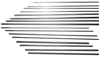 Esab Welding DC Copperclad Gouging Electrodes, 1/2 in X 14 in (50 EA/BOX)