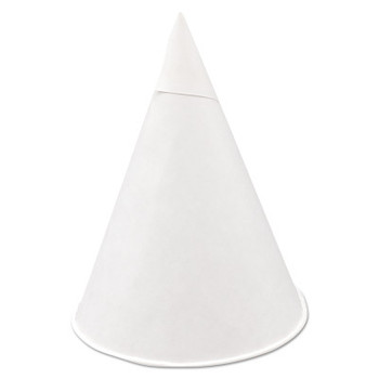 Igloo Cone Cups, 4 1/4 oz, White (5 CA/EA)
