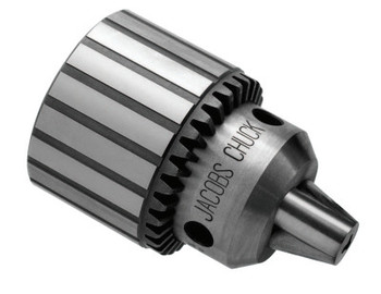 Apex Tool Group Heavy Duty Plain Bearing Chucks, K3, 0.04 in-1/2 in Cap., Jacobs 2JT Female (1 EA/EA)