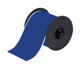 Brady BBP31 Indoor/Outdoor Vinyl Tapes, 100 ft x 4 in, Blue (1 RL/CA)