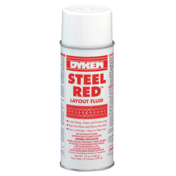 ITW Pro Brands Layout Fluids, 16 oz Aerosol Can, Red (12 CAN/EA)