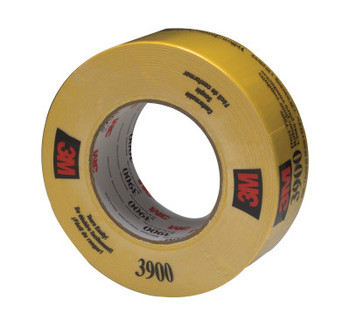 3M Duct Tapes 3900, Yellow, 5 1/2 in x 5 1/2 in x 7.7 mil (1 RL/BX)