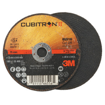 3M Flap Wheel Abrasives, 36 Grit, 25,465 rpm (25 BX/CA)