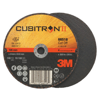 3M Flap Wheel Abrasives, 60 Grit, 19,100 rpm (50 CT/BG)