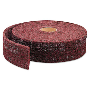 3M Scotch-Brite Clean and Finish Roll Pads, Very Fine, Maroon (1 EA/CA)