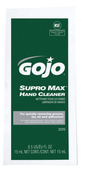 Gojo SUPRO MAX Multi-Purpose Heavy Duty Hand Cleaners, Packet, 1/2 oz (1 CA/EA)