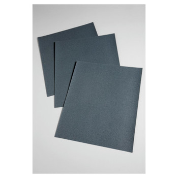 3M Wetordry 431Q Paper Sheets, Silicon Carbide, 400 Grit, 11 in Long (50 BX/CA)