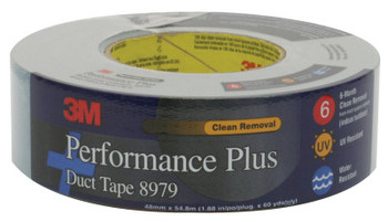 3M Performance Plus Duct Tapes 8979, Slate Blue, 4 7/8 in x 4 7/8 in x 12.6 mil (12 RL/CA)