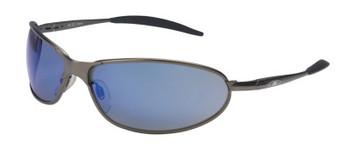 3M Metaliks GT Eyewear, Blue Mirror Lens, Polycarbonate, Anti-Fog, Bronze Frame (20 EA/CA)