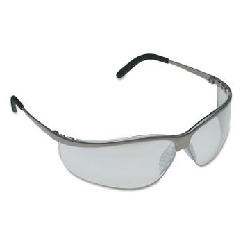 3M Metaliks Sport Safety Eyewear, Lens, Anti-Fog/HC, Brushed Nickel Frame, Metal (20 EA/CA)