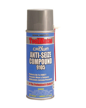 Aervoe Industries Anti-Seize Compounds, 16 oz Aerosol Can, Black (12 CAN/CA)