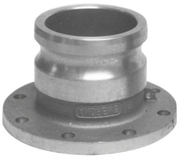 Dixon Valve Andrews Adapter x Round Tank Truck Flanges, 4 in (1 EA/BX)