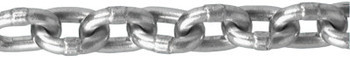 Apex Tool Group Aluminum Chains, Size 17/64 in, 550 lb Limit, Bright (1 FT/CA)