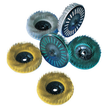 3M Scotch-Brite Bristle Discs, 4 1/2 in, 50, 12,000 rpm, Green (1 EA/CA)