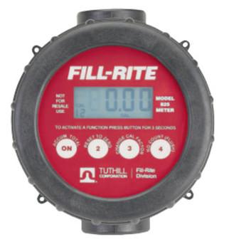 Fill-Rite Digital Flow Meters, 1 in Inlet, 2 gal/min - 20 gal/min (1 EA/CA)