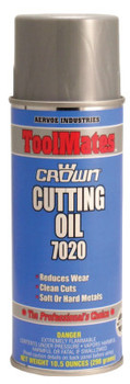 Aervoe Industries Cutting Oils, 16 oz, Aerosol Can (12 CAN/CA)