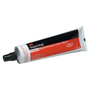 3M Scotch-Grip High Performance Contact Adhesive 1357, 5 oz, Tube, Gray-Olive (1 TUBE/EA)