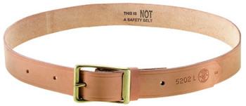 Klein Tools 55204 LARGE LEATHER BELT (1 EA/CA)