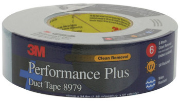 3M Performance Plus Duct Tapes 8979, Slate Blue, 6 5/8 in x 6 5/8 in x 12.6 mil (1 RL/CA)