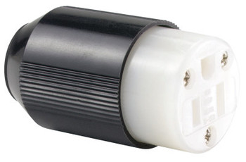 Cooper Wiring Devices 15 AMP BLK CONNECTOR BODY IND GRADE AUTO GRIP (1 EA/CAN)