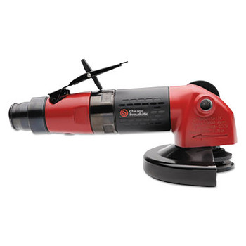 "Chicago Pneumatic ANGLE GRINDER 4"" 1.1 HP 3/8""-24 SPINDLE- 1.1 HP (1 EA/RL)"