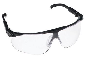3M Maxim Safety Eyewear, Clear Polycarbonate Anti-Fog Hard Coat Lenses, Adjustable (10 BX/RL)