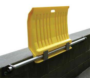 Eagle Mfg 00225 FIXED POLY DOCKPLATE FOR HAND TRUCKS (1 EA/RL)