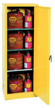 Eagle Mfg Flammable Liquid Storage, Manual-Closing Cabinet, 24 Gallon (1 EA/KT)