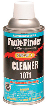 Aervoe Industries FAULT FINDER CLEANER GROUP 1 (12 CAN/RL)