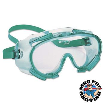 Kimberly-Clark Professional V80 MONOGOGGLE 211 Goggles, Clear/Green, Indirect Ventilation (36 EA/RL)