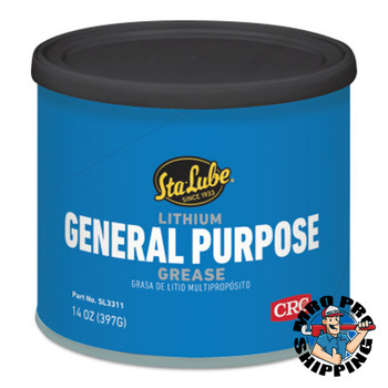 CRC Lithium General Purpose Grease, 14 oz Can (12 CS/CG)