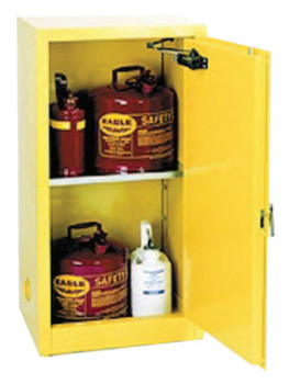 Eagle Mfg Flammable Liquid Storage, Self-Closing Cabinet, 16 Gallon (1 EA/RL)