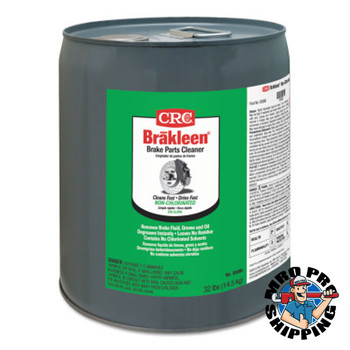 CRC Brakleen Non-Chlorinated Brake Parts Cleaners, 5 gal Pail (5 PAL/KT)