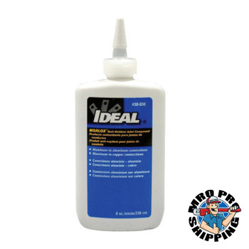 Ideal Industries Noalox  Anti-Oxidant Joint Compound, 8 oz Squeeze Bottle (1 EA/EA)