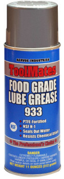 Aervoe Industries Food Grade Lube Grease, 11 oz, Aerosol Can (12 CA/EA)