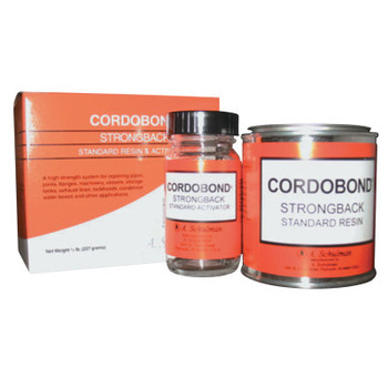 A. Schulman CORDOBOND Strong Back Resin and Activator, 1/2 lb Kit (24 EA/RL)