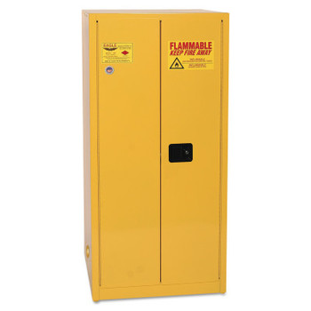 Eagle Mfg Flammable Liquid Storage, Self-Closing Cabinet, 60 Gallon (1 EA/PK)