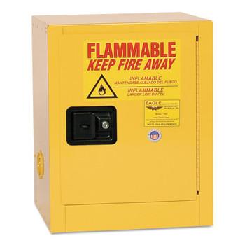 Eagle Mfg Flammable Liquid Storage, Manual-Closing Cabinet, 4 Gallon (1 EA/EA)