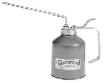 Goldenrod Industrial Pump Oilers, 16 oz, Lever Action, Angle 8 in Spout (1 EA/EA)