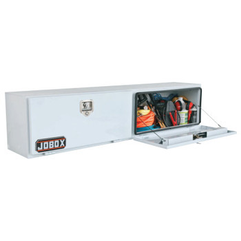 "Apex Tool Group Double Door Topside Truck Boxes,  72"" x 15"" x 17"", White (1 EA/EA)"