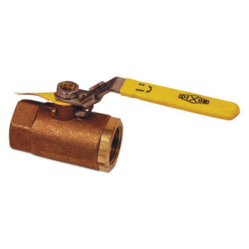 Dixon Valve Safety Vented Ball Valves, 2 in (NPT) Inlet, Female/Female, Brass (1 EA/CT)