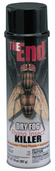 ITW Pro Brands THE END DRY FOG FLYING INSECT (12 CAN/CTN)