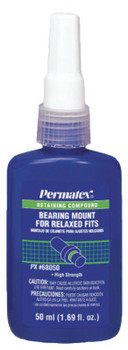 Permatex Bearing Mount for Relaxed Fits, 50 mL Bottle, Green, 3,800 psi (1 BTL/SET)