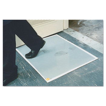 Crown Mats and Matting Replacement Pads, 24 in x 30 in, 1/8 in, Gray (1 CA/EA)