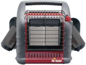 HeatStar Mr. Heater Portable BIG Buddy Heaters, 4,000/9,000/18,000 Btu/h (1 EA/CTN)