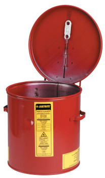 Justrite Dip Tanks, Hazardous Liquid Cleaning Tank, 2 gal, Red (1 EA/CTN)