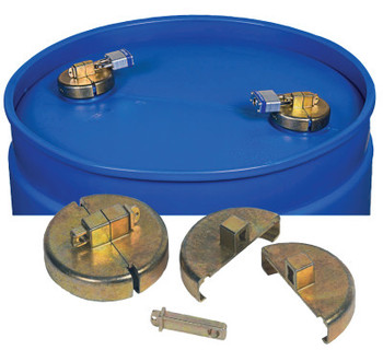 "Justrite DRUM LOCKS FOR 55 GALLON POLY DRUM 3/4"" NPT (1 EA/BOX)"