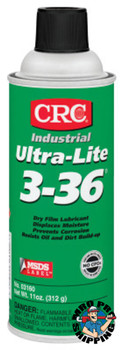 CRC Ultra-Lite 3-36 Lubricants, 16 oz Aerosol Can (12 CAN/ST)